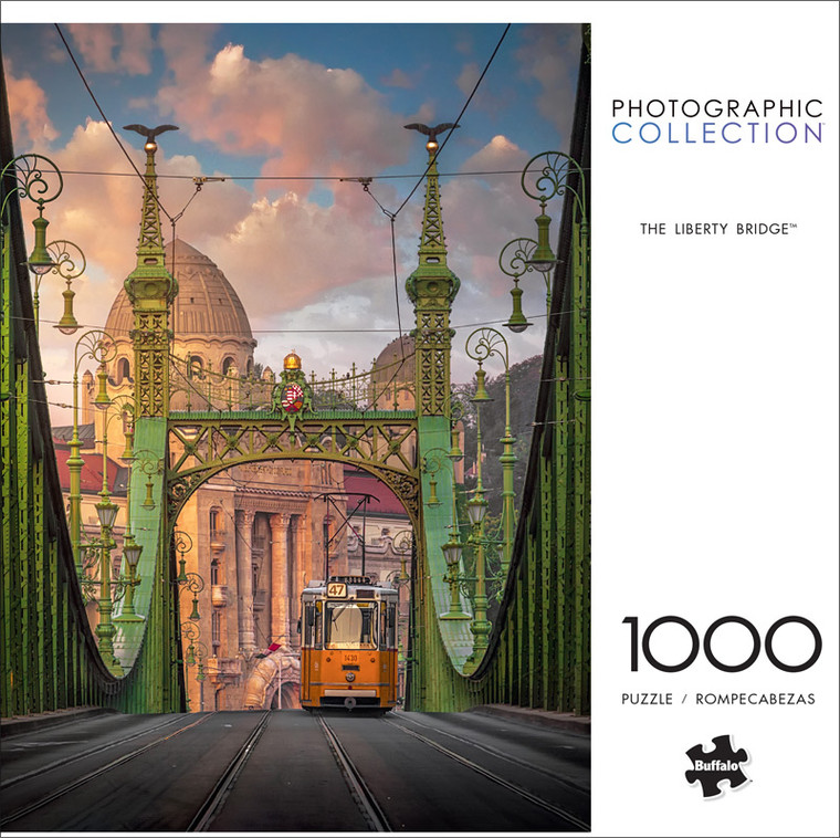 Photography The Liberty Bridge 1000 Piece Jigsaw Puzzle Front