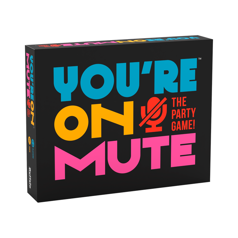 You're On Mute Box Front