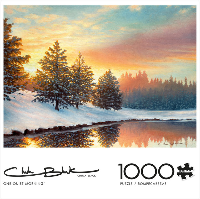 Chuck Black One Quiet Morning 1000 Piece Jigsaw Puzzle Front