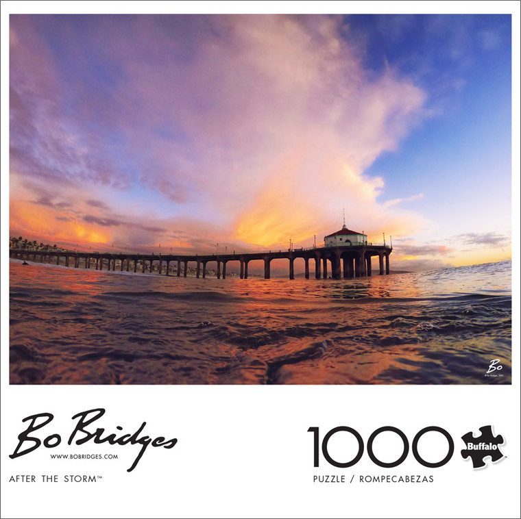 Photography Bo Bridges After the Storm 1000 Piece Jigsaw Puzzle