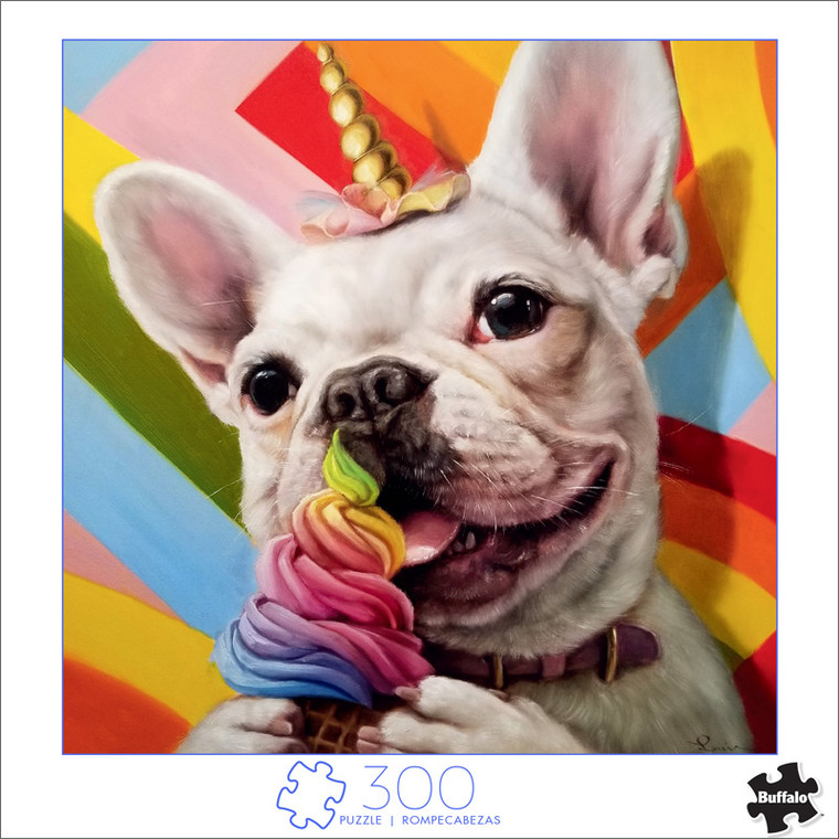 Art of Play Pride Pup 300 Large Piece Jigsaw Puzzle Front
