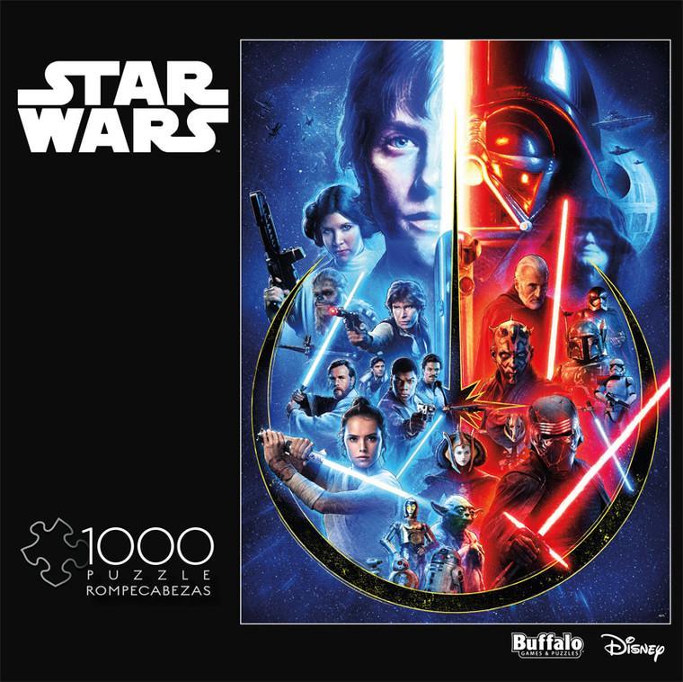 Star Wars™ Celebrating The Skywalker Saga 1000 Piece Jigsaw Puzzle Front