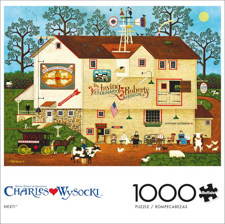 Charles Wysocki Next 1000 Piece Jigsaw Puzzle Front