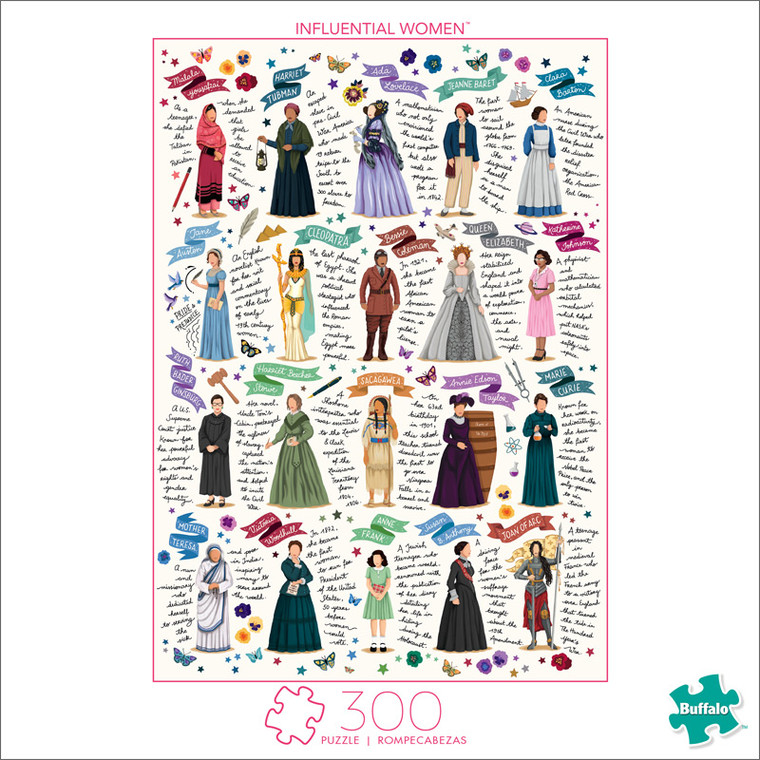 Influential Women 300 Large Piece Jigsaw Puzzle Front