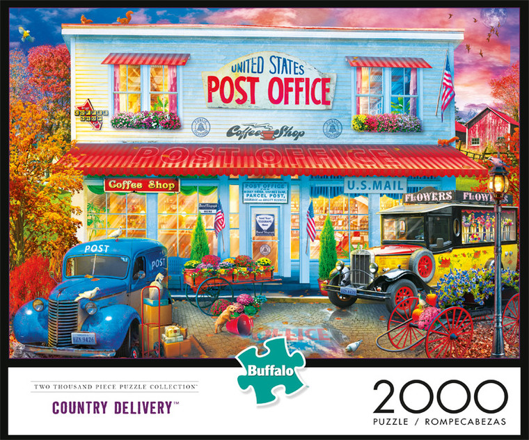 Country Delivery 2000 Piece Jigsaw Puzzle Front