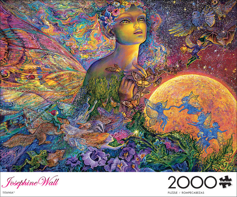 Art of Play Josephine Wall Titania 2000 Piece Jigsaw Puzzle Front