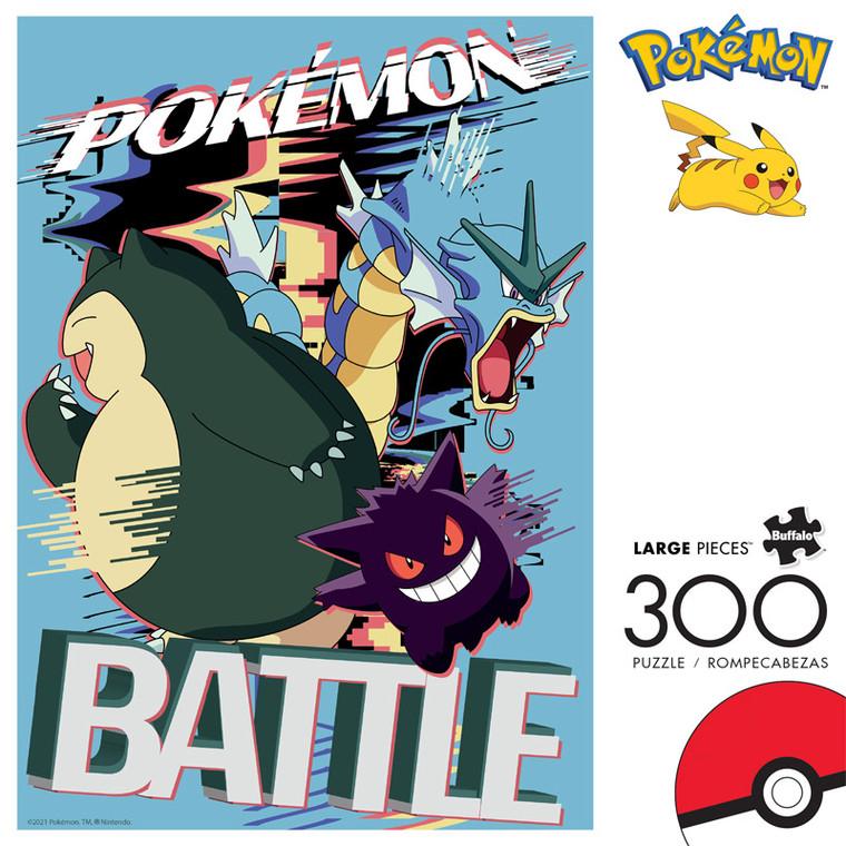 Pokémon Battle Distortion 300 Large Piece Jigsaw Puzzle Front