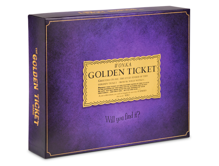 The Golden Ticket Game Box