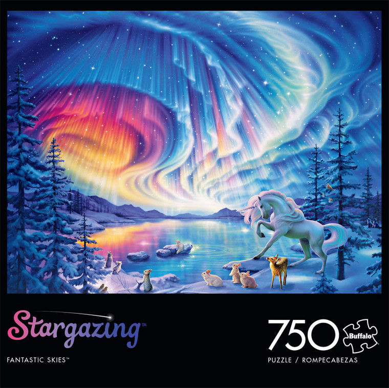 Stargazing Fantastic Skies 750 Piece Jigsaw Puzzle Front