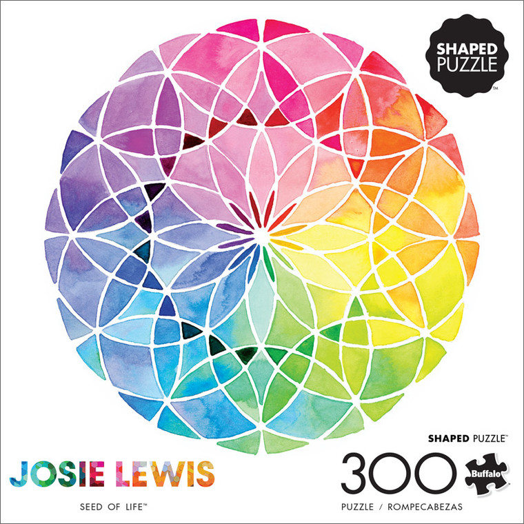 Art of Play Josie Lewis Seed Of Life 300 Large Piece Jigsaw Puzzle Front