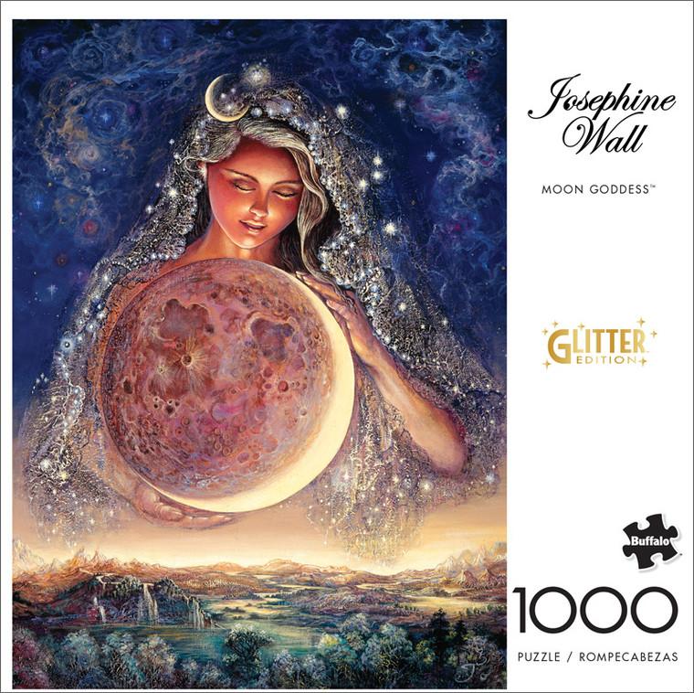 Josephine Wall Moon Goddess 1000 Piece Jigsaw Puzzle Front