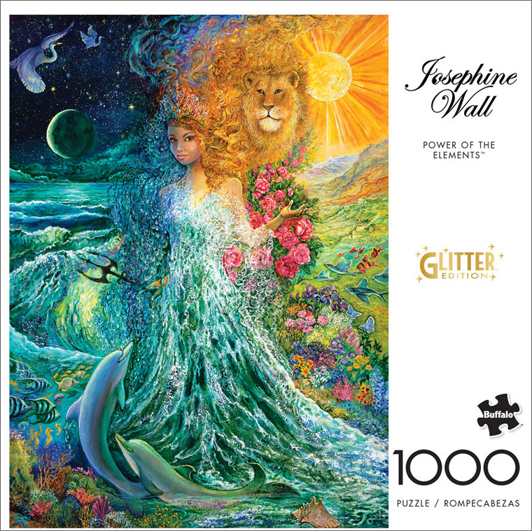 Josephine Wall Power of the Elements 1000 Piece Jigsaw Puzzle Front