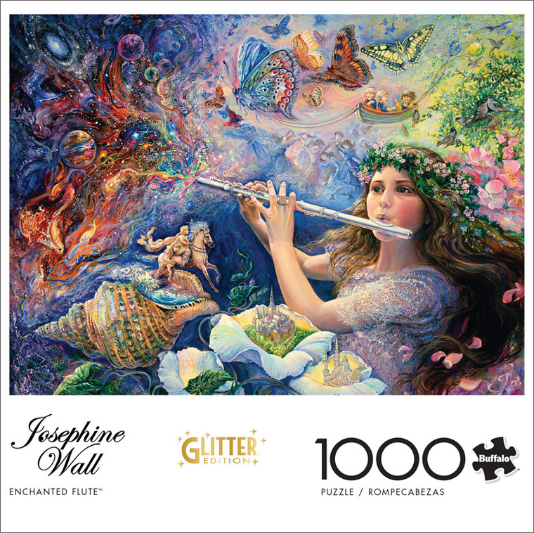 Josephine Wall Enchanted Flute 1000 Piece Jigsaw Puzzle Front