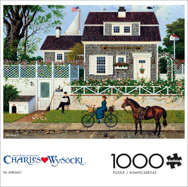 Charles Wysocki In Spring 1000 Piece Jigsaw Puzzle Front