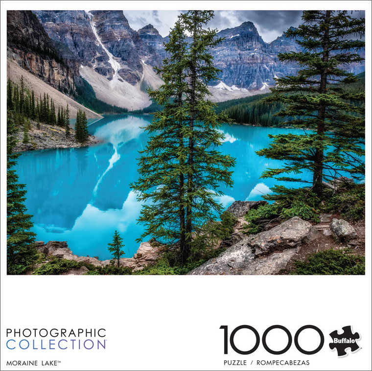 Photography Moraine Lake 1000 Piece Jigsaw Puzzle Front