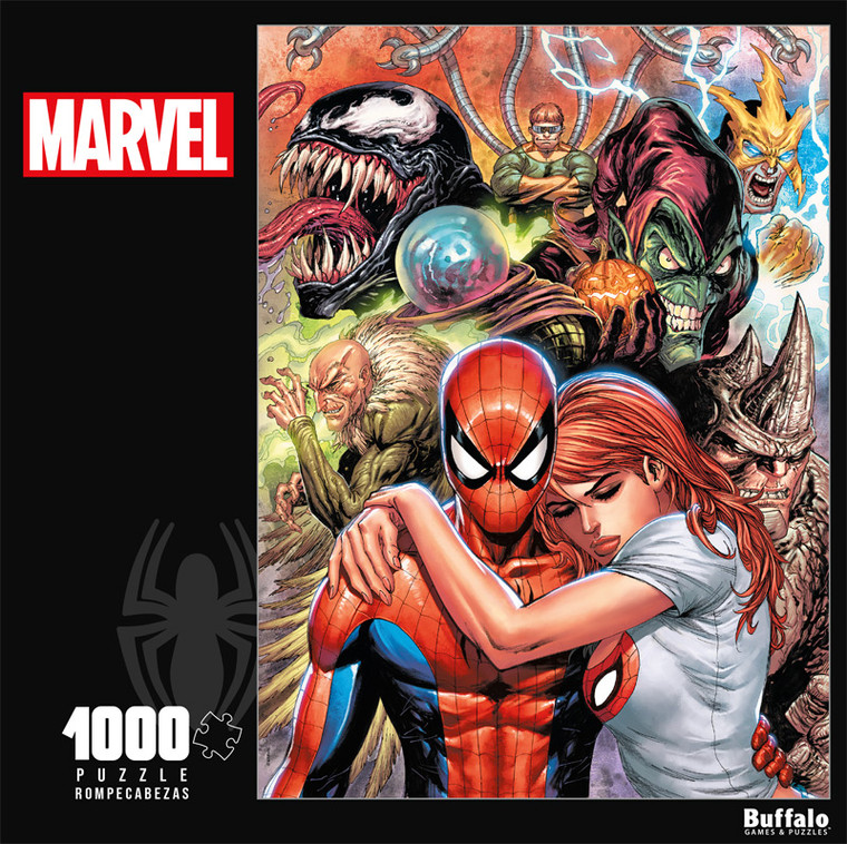 Marvel Spider-Man Renew Your Vows #1 Variant 1000 Piece Jigsaw Puzzle Front