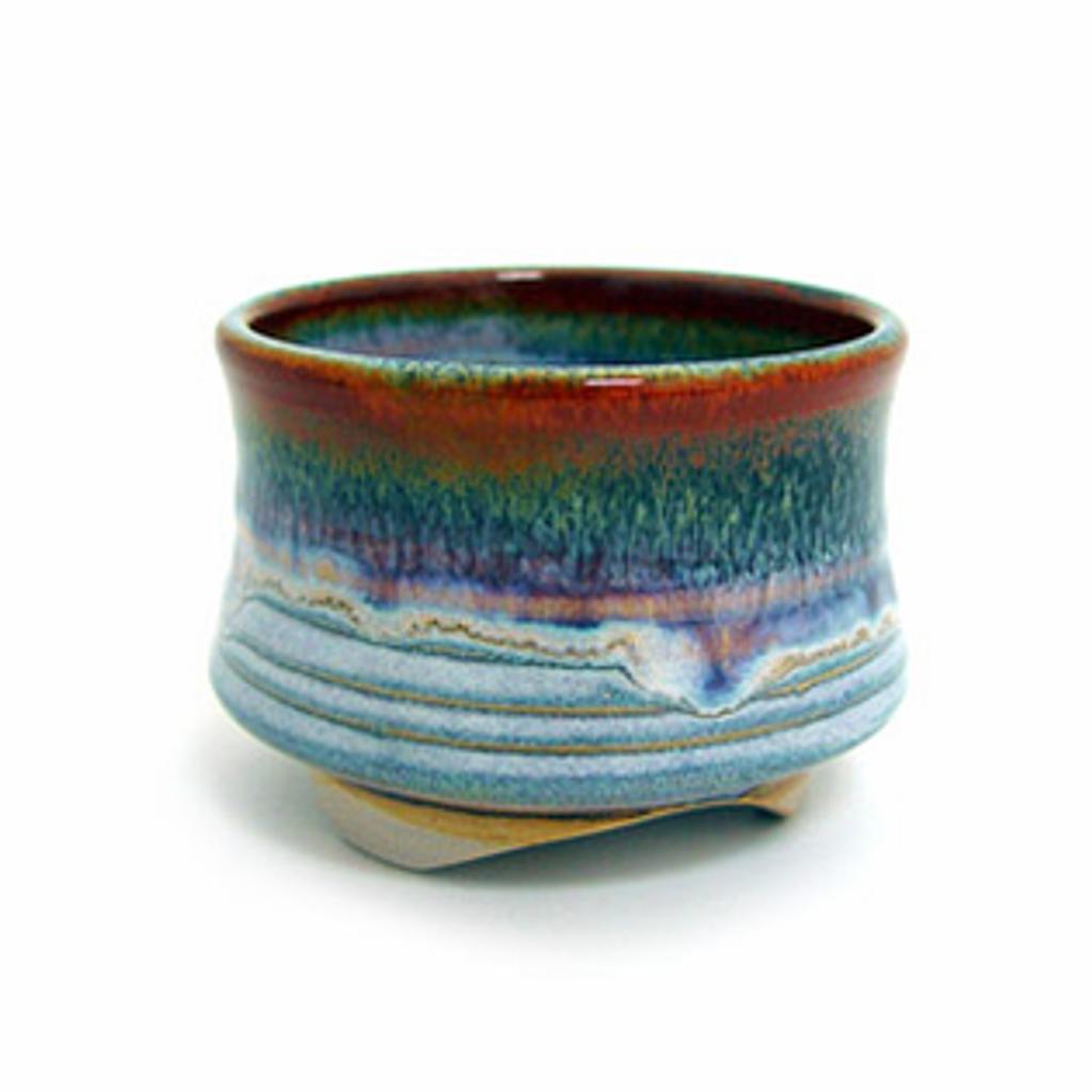 Incense Cup - Rust Rim - Shoyeido