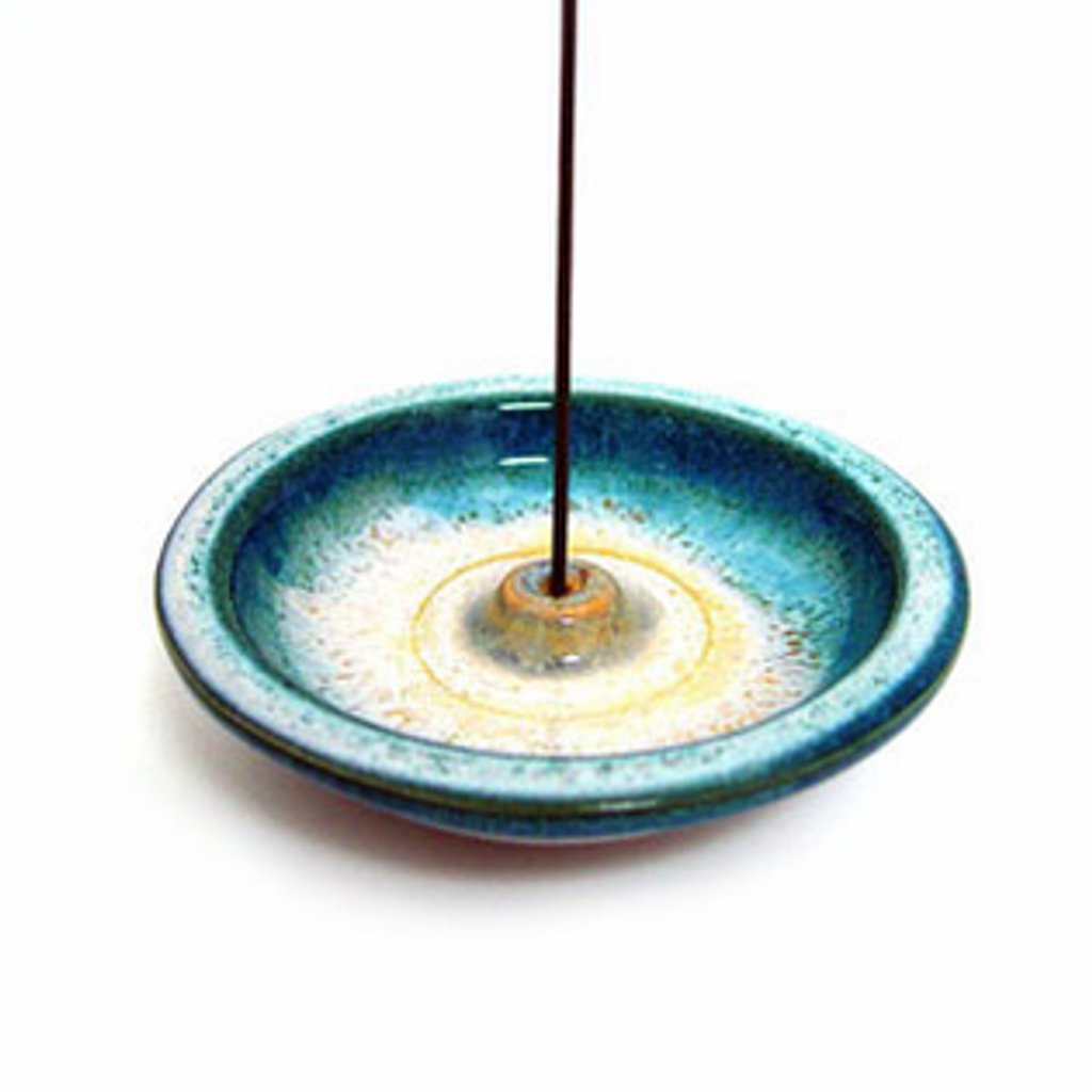 Incense Holder - Ocean Blue