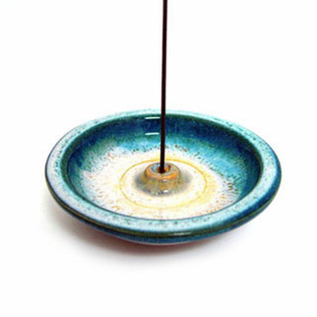 Incense Holder - Ocean Blue