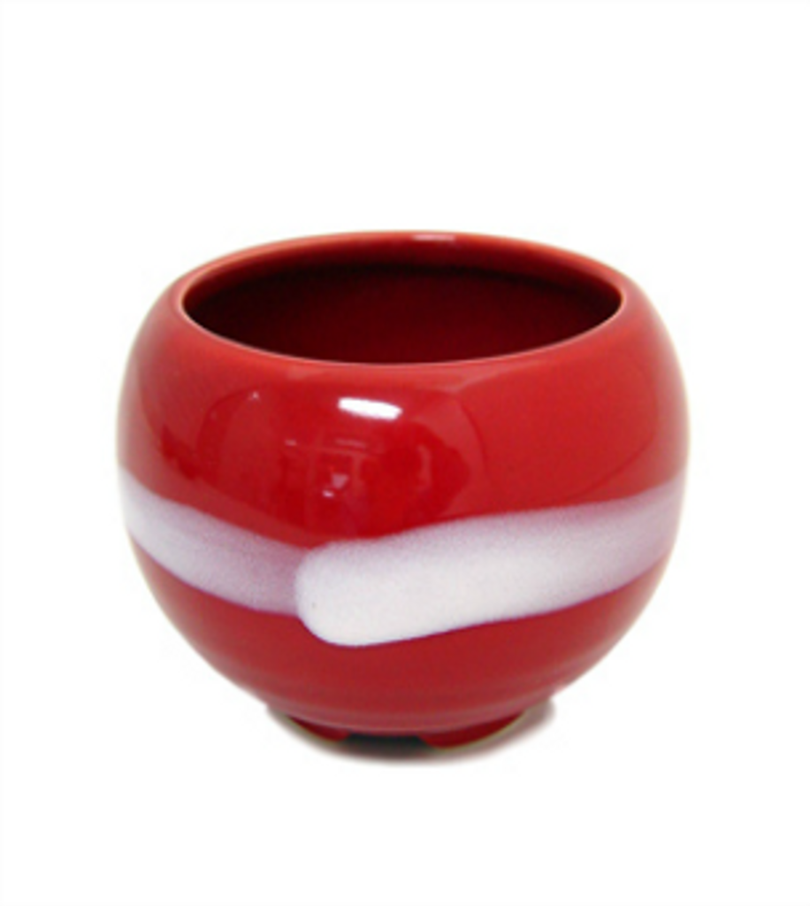 Incense Bowl - Crimson