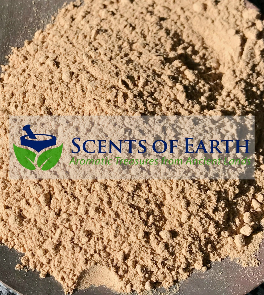 Sandalwood Powder (Santalum album) (White) -  India