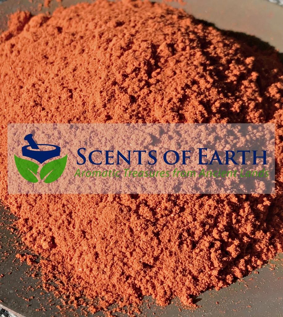 Sandalwood Red Powder (Pterocarpus santalinus)  - India