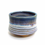 Incense Cup - Blue Rim - Shoyeido