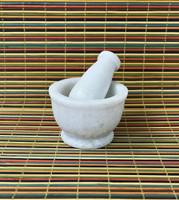 Mortar & Pestle - White Marble (small)