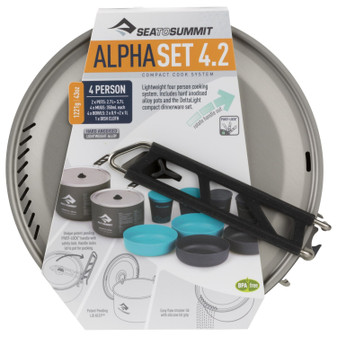 SEA TO SUMMIT ALPHA COOKSET 4.2