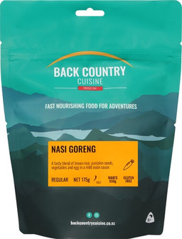 Back Country Cuisine - Nasi Goreng - Serves 2 - Dry Weight: 175 g