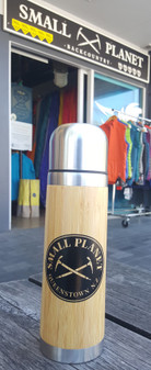 Bamboo Flask- 500ml - Small Planet Logo