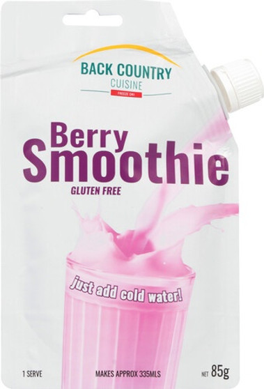 Back Country Cuisine Smoothie - Berry - Dry Weight: 85g