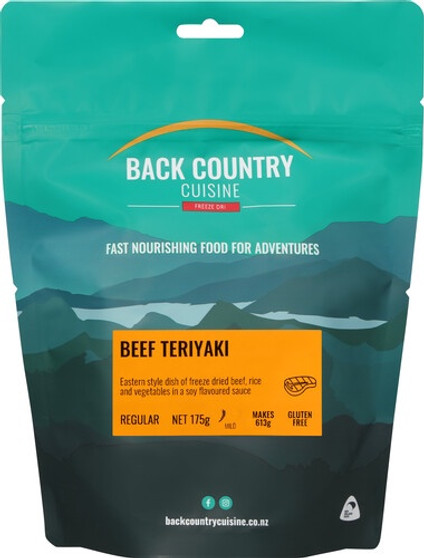 Back Country Cuisine - Beef Teriyaki - Serves 2 - Dry Weight: 175 g