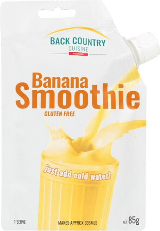 Back Country Cuisine Smoothie - Banana - Dry Weight: 85g