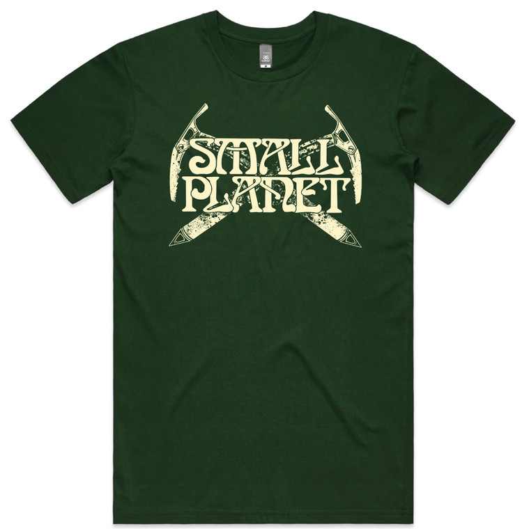 Small Planet Sports Tee - Axe Artwork