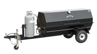 Meadow Creek PR72GT Gas Trailer Pig Roaster