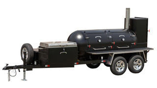 Meadow Creek TS500 BBQ Smoker Trailer