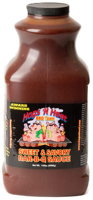Hogs 'N Heat Sweet and Savory Sauce - Gallon