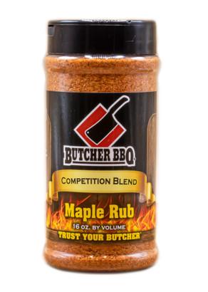 Butcher BBQ Maple Rub 12 oz