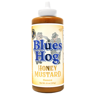 Blues Hog Honey Mustard BBQ Sauce SQUEEZE - 21 oz