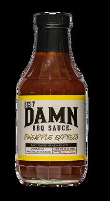 Best Damn BBQ Sauce Pineapple Express 20 oz