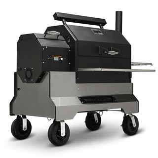Yoder YS640s Competition Pellet Grill Silver