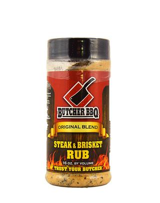 Butcher BBQ Steak and Brisket Rub - 16 oz