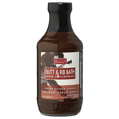 Sweetwater Smoked Apple Spice Butt and Rib Brine - 16 oz