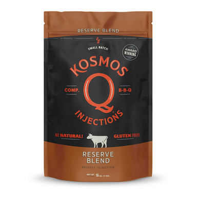 Kosmo's Q Reserve Blend Beef Injection - 1 lb