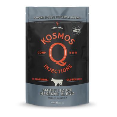 Kosmo's Q Smoke House Reserve Blend Injection - 16 oz