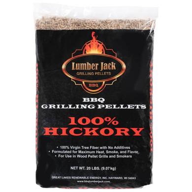 Lumber Jack 100% Hickory Pellets - 20 lb