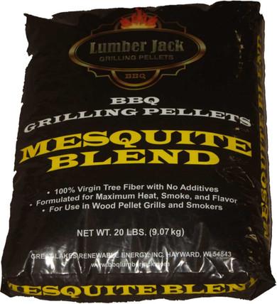 Lumber Jack Mesquite Blend Pellets - 20 lb