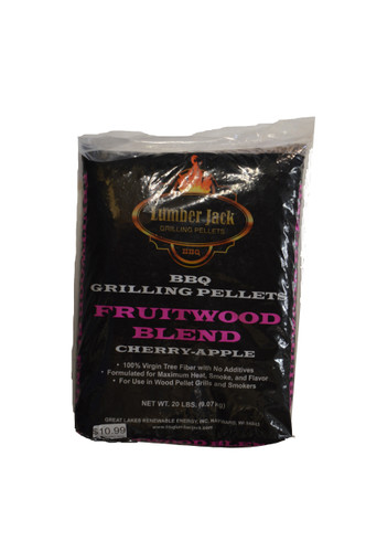 Lumber Jack Fruitwood Blend Pellets - 20 lb