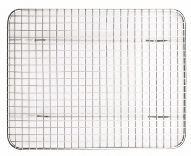"""Wire Mesh Pan Grate - 8"""" x 10"""""""